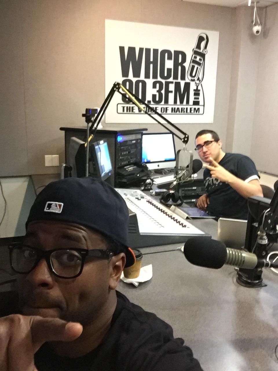 Brew + DJ Lil Tiger in the studio