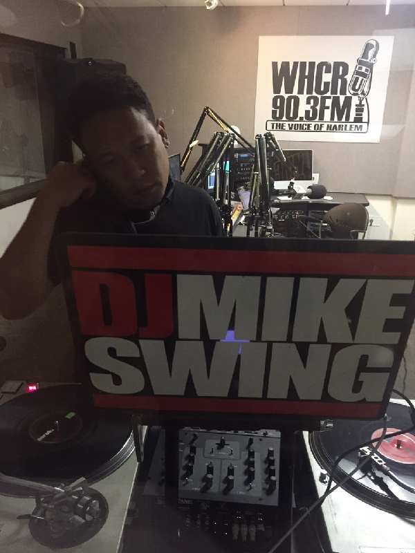 DJ Mike Swing in the mix at Impulse Travels