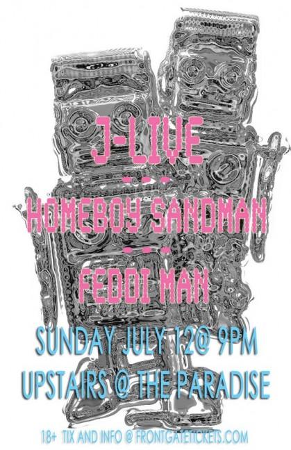 Feddi show JLive HB Sandman